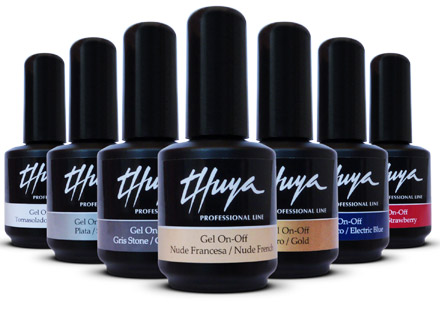 ESMALTES GEL ON-OFF THUYA